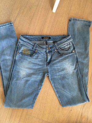 Jeans Hose hellblau Denim Slim von Killah Gr. 28