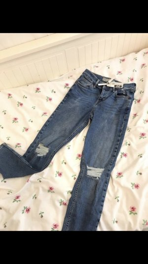 Jeans Hose Highwaist Topshop