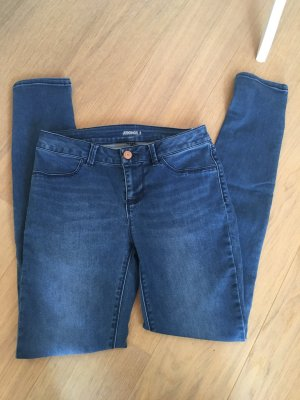 Jeans Hose Jeggings stretchig skinny blau dunkelblau Gr. S