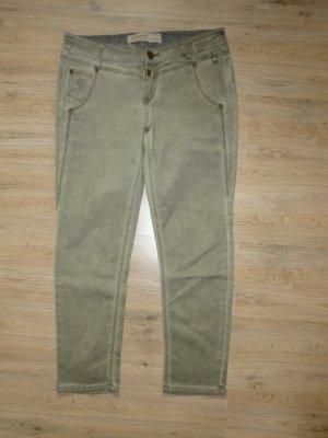 Timezone Pantalone a 7/8 color cammello