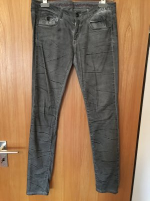 Jeans/Hose Loveday Jeans washed look Gr. 30 grau