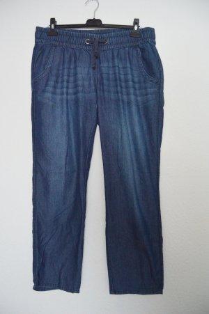 Jeans Hose mit Gummibund gr.L ca 42-44