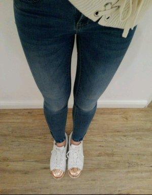 Jeans Hose Only Reißverschluss