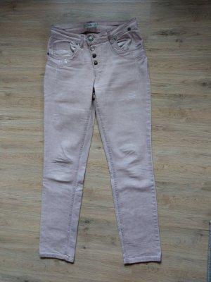 Tredy Tube Jeans light pink