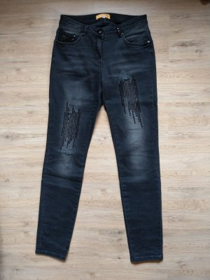 Crisca Skinny Jeans black