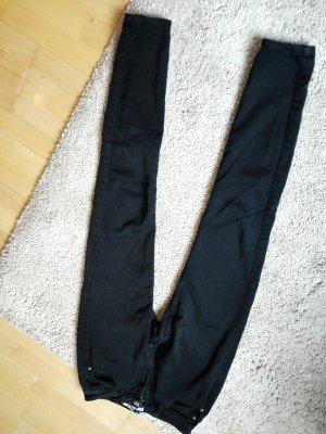 Jeans / hose schwarz, skinny