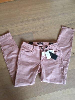 Jeans Hose Skinny Maison Scotch nude rose NEU 30/32