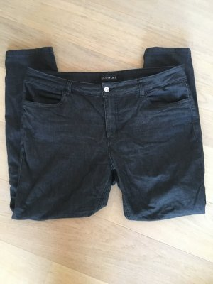 Jeans Hose Slim Denim schwarz Basic stretchig Gr. 46