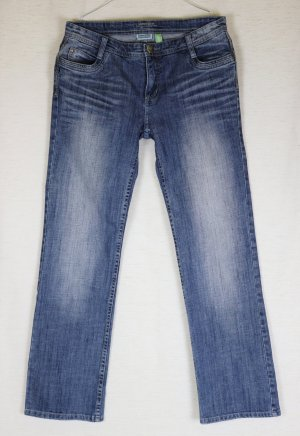 Jeans Hose Street One Georgia Größe W30 L32 38 40 Blue Denim Washed Gerade
