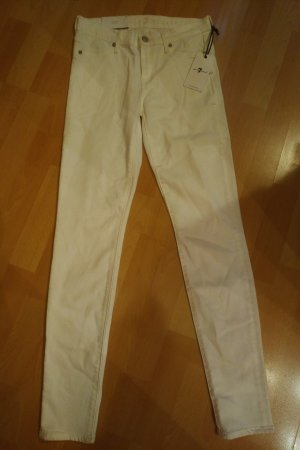 7 For All Mankind Pantalón blanco