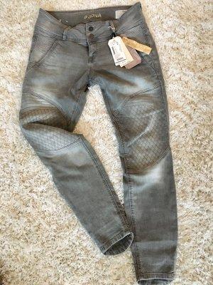 Jeans Hose Tom Tailor NEU S 28 grau Frühling skinny