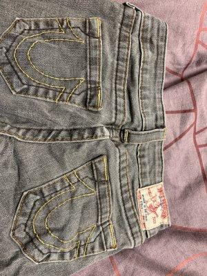 True Religion Low Rise Jeans grey
