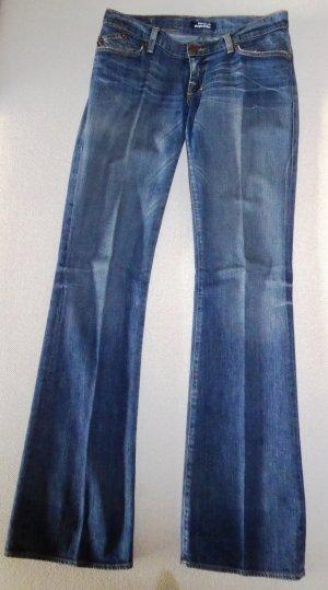 Rock & Republic Low Rise Jeans blue cotton