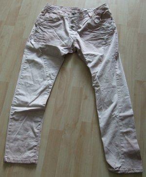 Please Five-Pocket Trousers light brown cotton