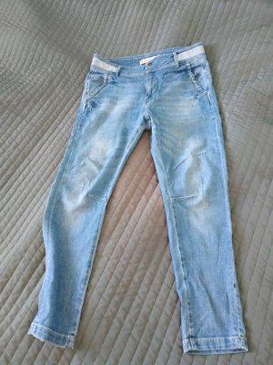 Zara Pantalon bleuet