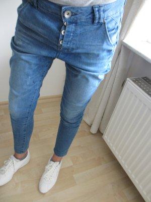 Jeans Hosen mit Knopfe