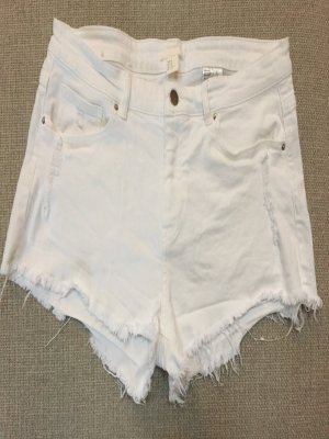 Jeans Hot Pants weißt destroyed H&M Gr 40 ungetragen
