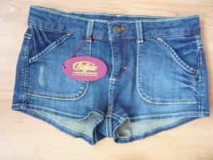 Jeans-Hotpant, Buffalo, Gr. 34, dark blue, neu, ungetragen, mit Etikett