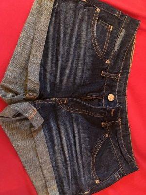 Jeans Hotpant (dunkelblau, Gr. 36)