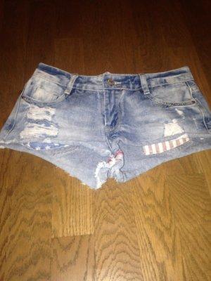 Jeans Hotpant Gr. 34