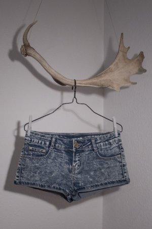 Hailys Denim Shorts azure
