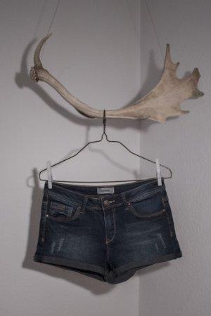 Pimkie Denim Shorts dark blue