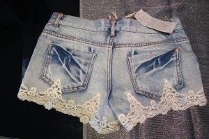 Jeans-Hotpants, Gr. 32, NEU!
