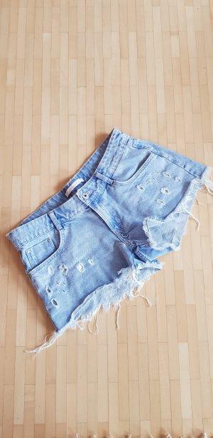 Jeans Hotpants in Gr 38 von Zara