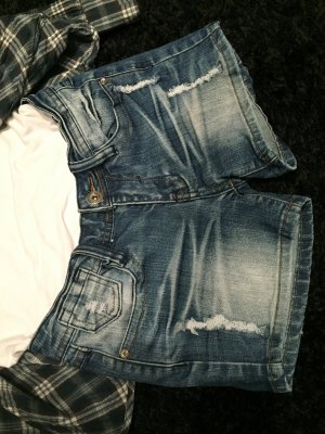 Jeans Hotpants / Jeansshort used Look