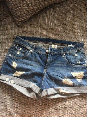 Jeans Hotpants mit Löchern