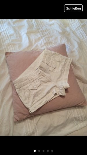 Jeans Hotpants weiss Shorts XS