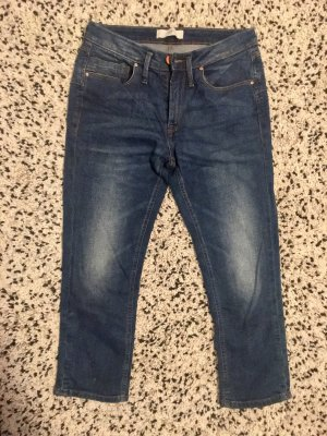 Ichi 3/4 Length Jeans steel blue
