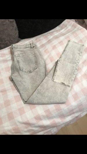 Jeans im ausgewaschenen Look
