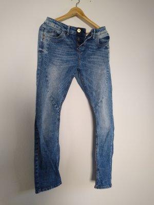 s.Oliver Jeans boyfriend blu acciaio