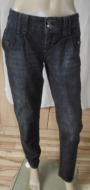 Street One Wortel jeans donkerblauw