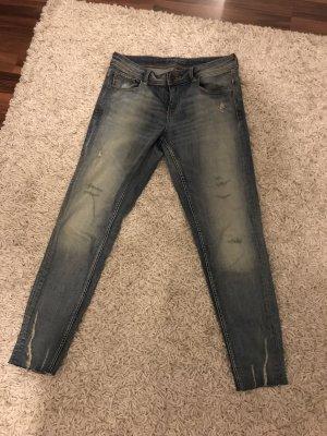 Zara Jeans skinny blu pallido
