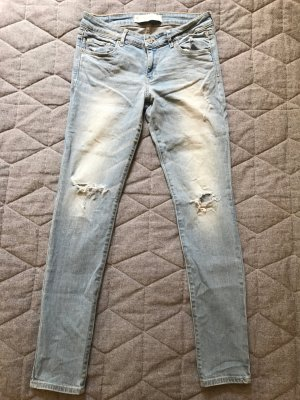 Jeans im destroyed Look von Abercrombie & Fitch
