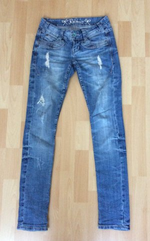 Jeans im destroyed look von Review in der Größe 25/32