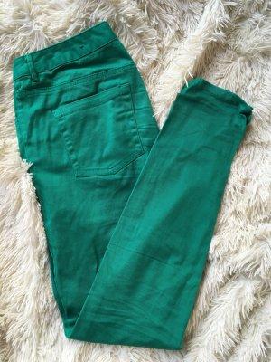Jeans im Grün - selten getragen