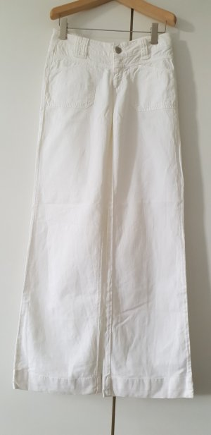 Closed Pantalon Marlene blanc coton