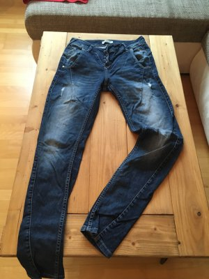 Jeans im Used look