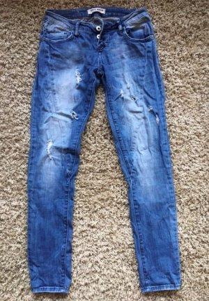 Jeans im Used Look Gr. 36