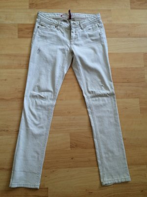 Jeans im Used Look in beige (28/32)