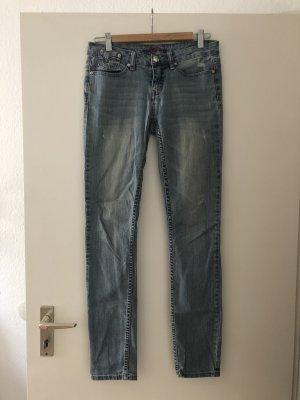 bebe Jeans slim fit azzurro