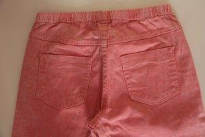 Jeans in Batikoptik von Pieces