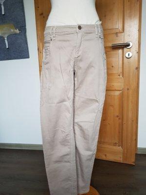 Jeans in beige