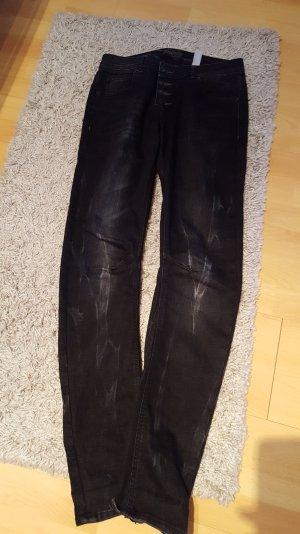 jeans in dunkelgrau von s. Oliver