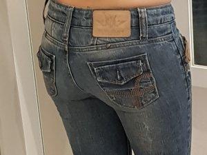 Low Rise jeans veelkleurig Katoen