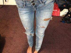 Jeans in hell blau XS