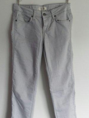 Jeans in hellgrau mit Taschen